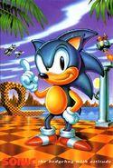 Sonic 1 EU promotinal art