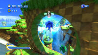Sonic Generations Giant Loop @ Green Hill