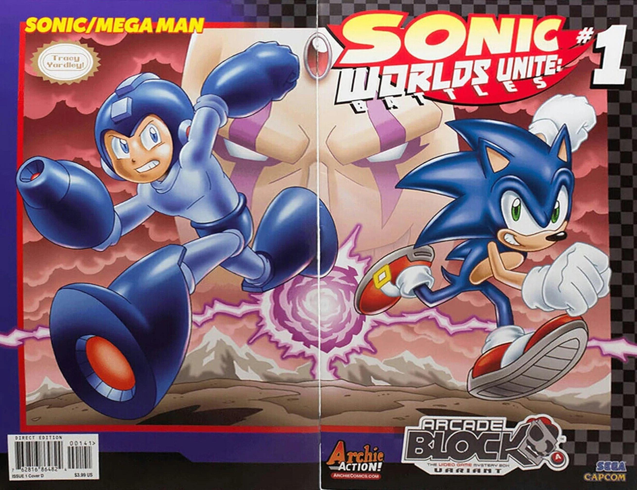 Archie Sonic the Hedgehog Worlds Unite Battles