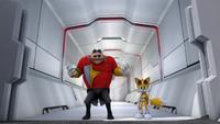 S1E03 Eggman Tails Lair entrance