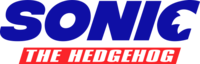 Sonic the Hedgehog (2019 film website logo)