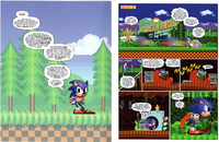 The Adventures of Sonic & Donut Lord - Scan 2