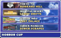 Horror cup info