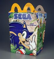 McDonalds Sonic LCD Games box