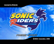 Riders Title Screen