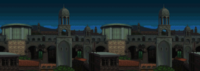 Rooftop Run - Night Background (Mobile)
