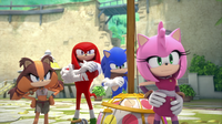 SB S1E38 Team Sonic unamused