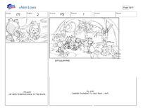 Aim Low storyboard 3