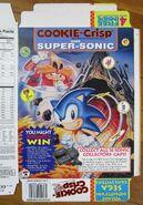 Cookie Crisp cereal Sonic Hedgehog 1995 Cap 2