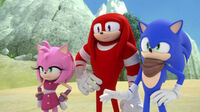 SB S1E43 Amy Knuckles Sonic
