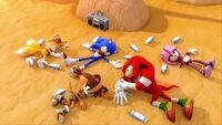 SB S1E46 Team Sonic overheat beach