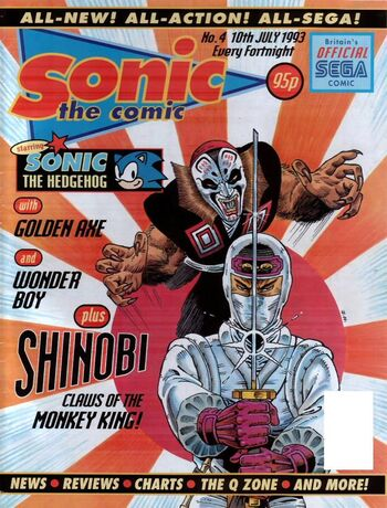 Sonic the Comic Issue 4