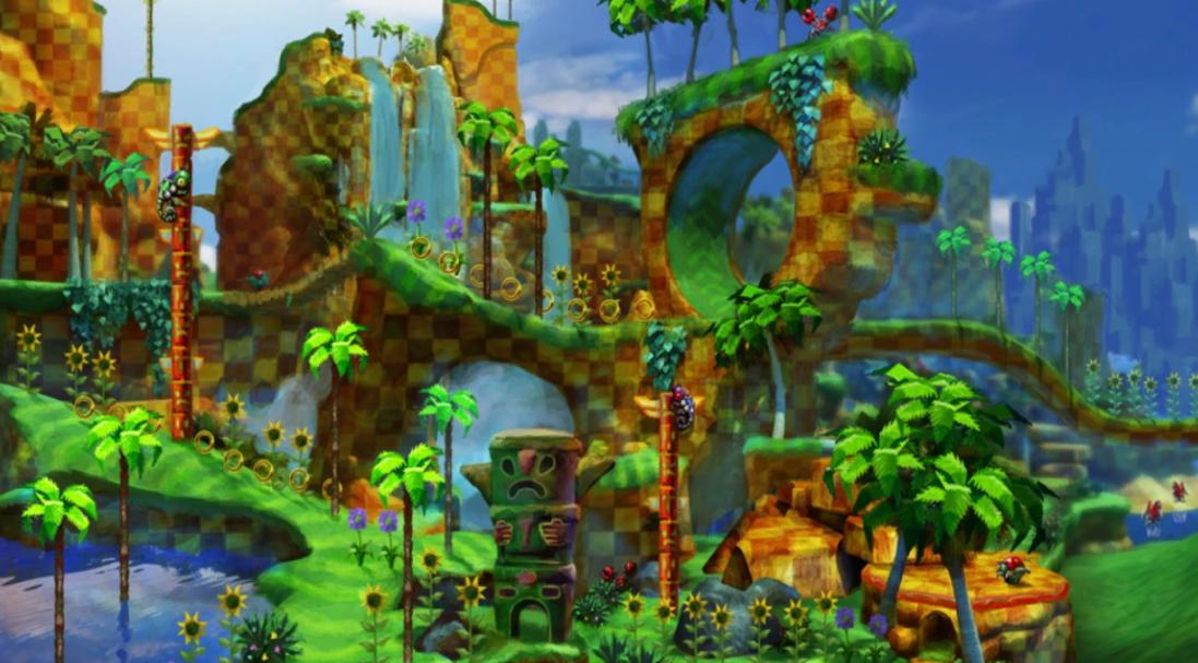 Green Hill (Sonic Generations)/Galeria