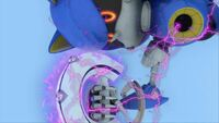 S1E44 Metal Sonic electrocuted 1