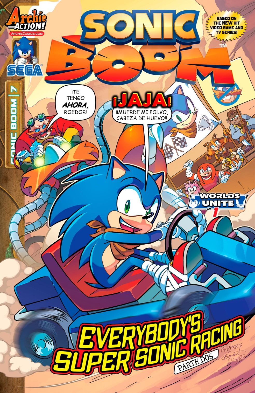 Archie Sonic Boom Issue 07