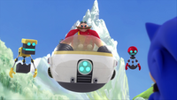 SB S1E13 Cubot Eggman Orbot Sonic 2