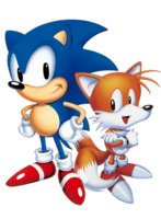 Sonic and Tails - Sonic 2 art refurbished
