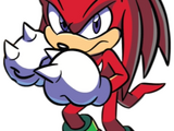 Knuckles the Echidna (IDW)