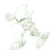 Metal Sonic CD concepts 7