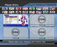 Riders Character Select 07