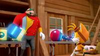 SB S1E23 Tails Eggman Cubot Orbot