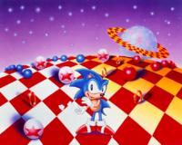 Sonic 3 Merch art