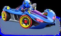 Sonic Racing Metal
