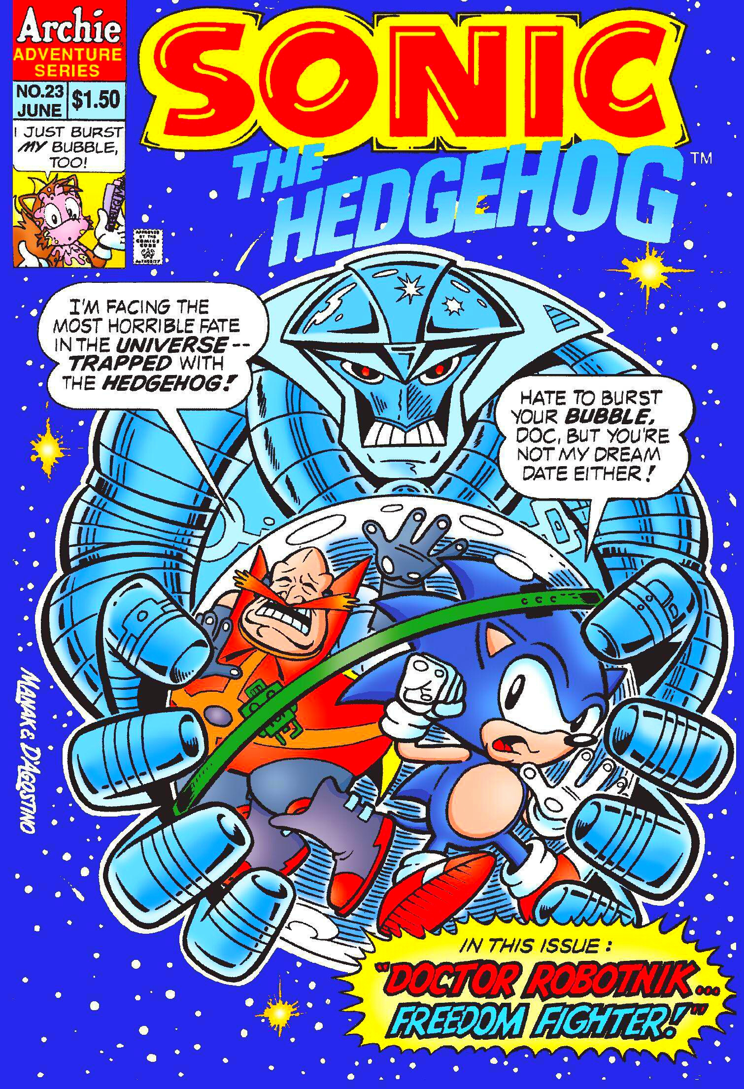 Archie Sonic the Hedgehog Issue 23