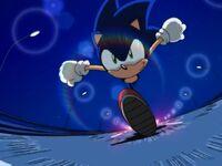 SonicrunningfromtheSteam