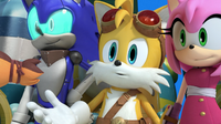 Cyborg-Sonic Tails and Amy