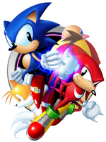 Sonic & Knuckles Collection JP main art
