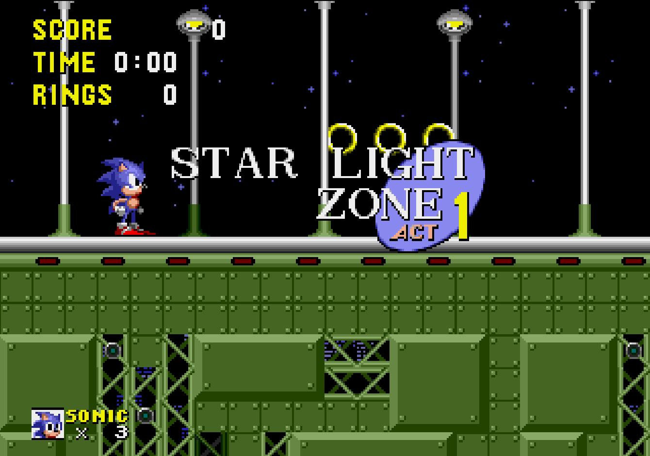 Star Light Zone