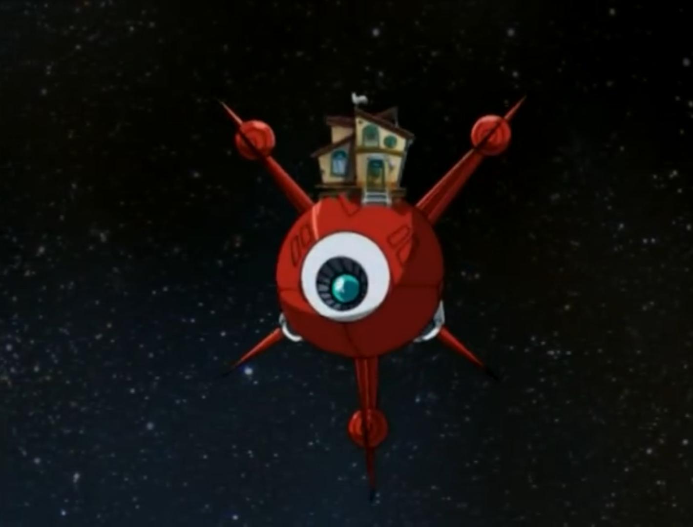 Chaotix's Spaceship