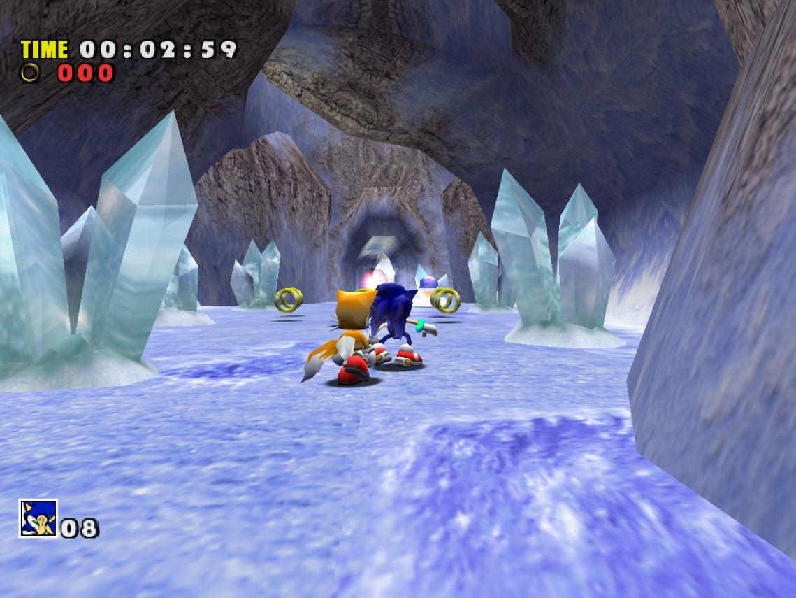 IceCap (Sonic Adventure)/Galeria