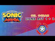 Oil Ocean Zone Act 1 & 2 - Sonic Mania