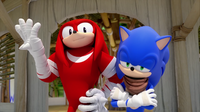 SB S1E10 Knuckles Sonic story