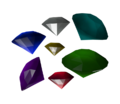 Sonic 06 Model Chaos Emeralds