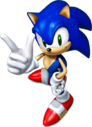 SA Sonic 3D art 1