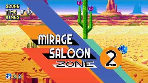 SM - Mirage Saloon Zone - Act 2 BOSS Egg Magician