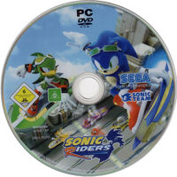 Sonic Riders PC EU disc