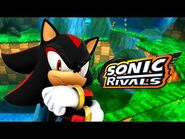 Sonic Rivals - Forest Falls Zone Act 1 - Shadow VS Knuckles -HD 60 fps-
