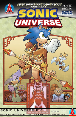Sonic Universe Issue 16