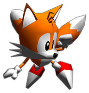 Sonic R 3D Tails look