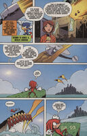 Sonic X issue 4 page 4
