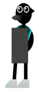 Tranq the Penguin Shield View