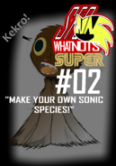 SFC What-Nots SUPER -2 YOUR OWN SONIC SPECIES