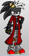 Axel The Hedgehog (Distruction of the wind outfit)