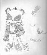 Hurumoshi the Panda Gate Keeper