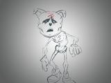 Witness Gabriël the Sphynx cat