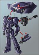 Sonic satam swatbot redesign by zeiram0034